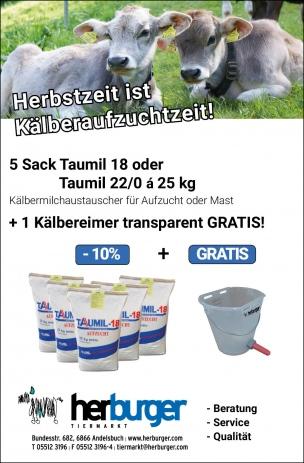 Taumil 18 oder Taumil 22/0 + GRATIS Tränkeeimer
